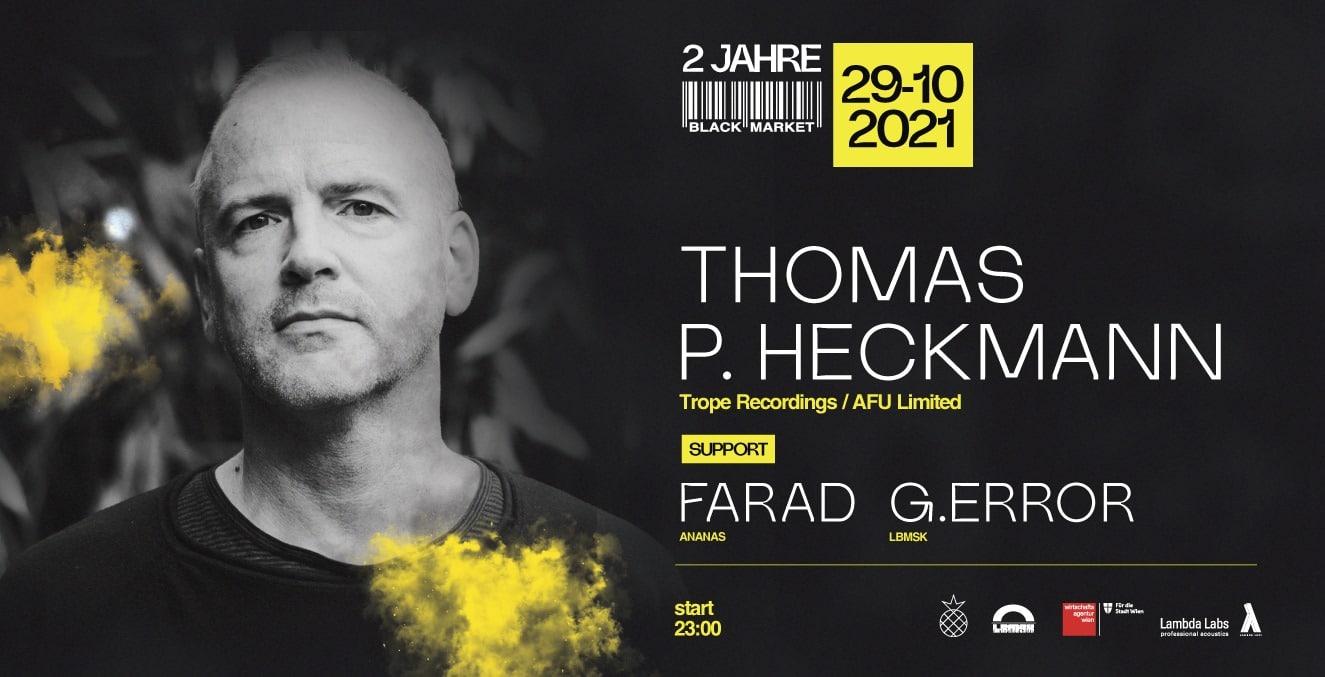 Events Wien: THOMAS P. HECKMANN