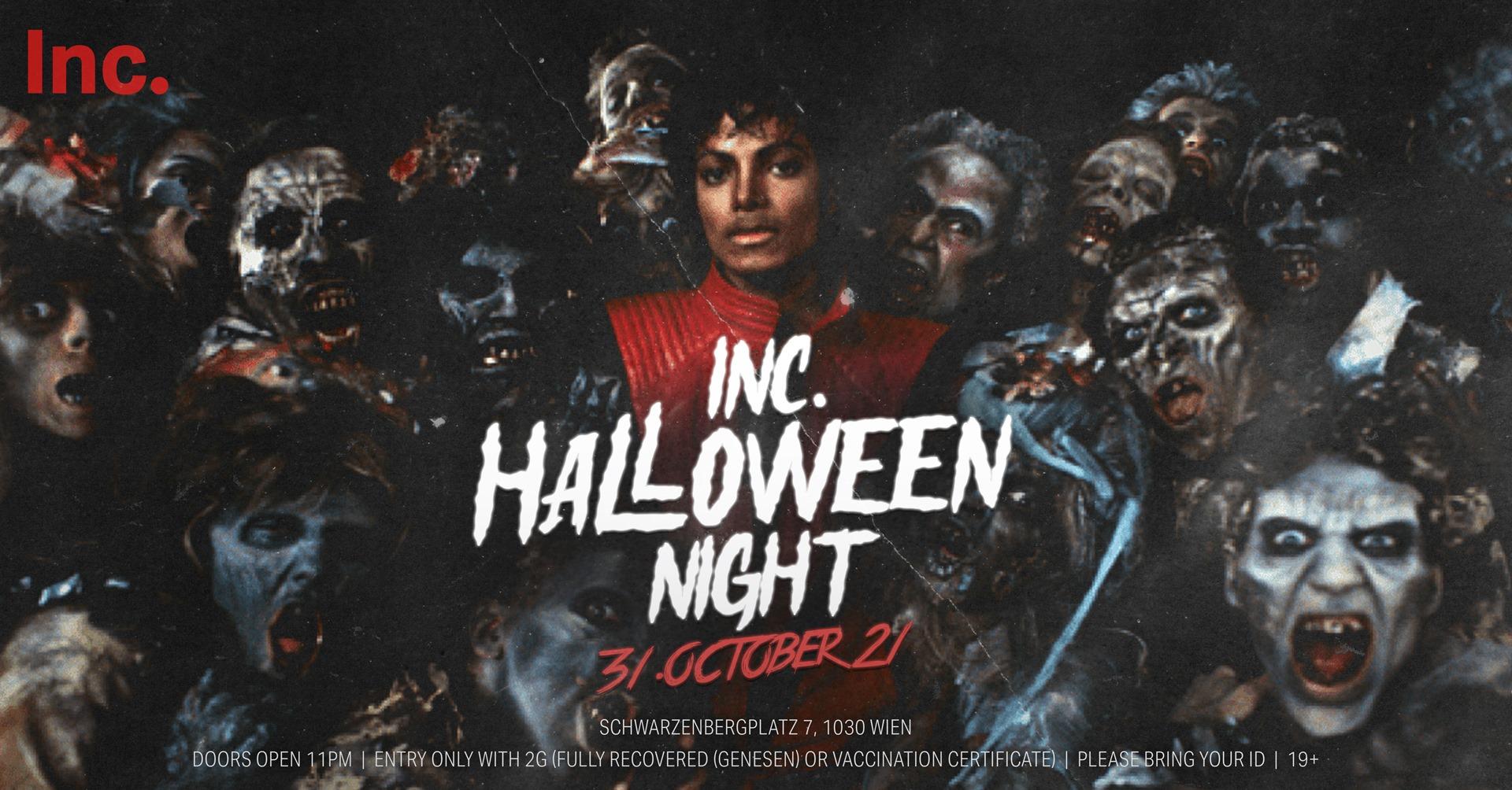 Events Wien: INC. HALLOWEEN NIGHT