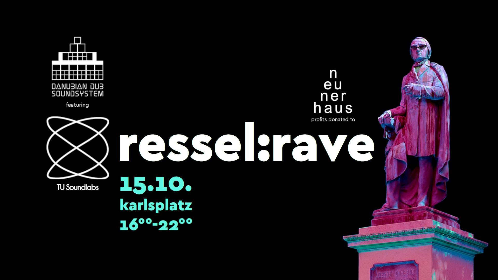 Events Wien: ressel:rave | feat. danubian dub soundsystem