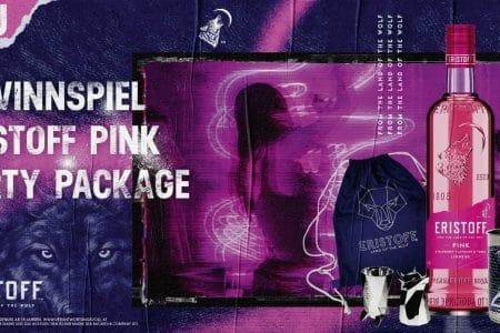 Eristoff Pink Gewinnspiel
