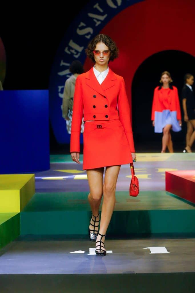 Dior Kollektion Spring Paris Fashion Week